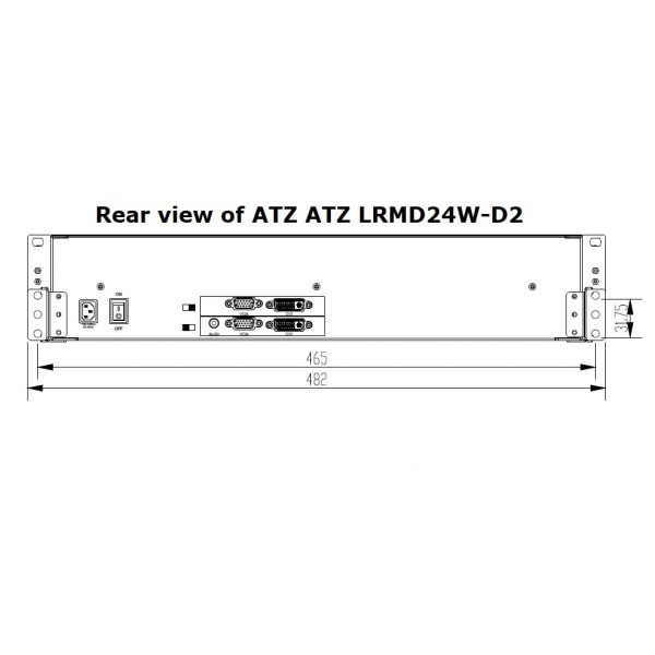ATZ LRMD24W-D2_rear view